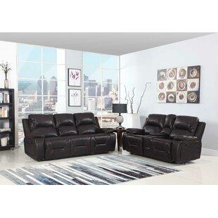 Trower Upholstered 2 Piece Living Room Set