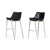 Mounthill 30'' Bar Stool (Set of 2) by Orren Ellis