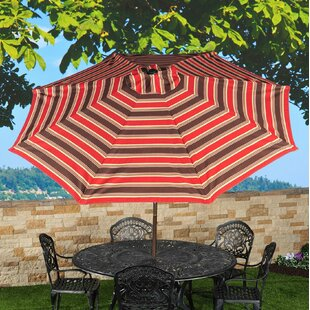 Merrick 9' Market Umbrella by Red Barrel Studio