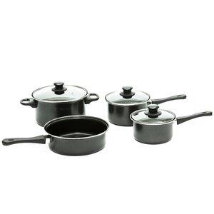 Carbon Steel Non-Stick 7 Piece Cookware Set