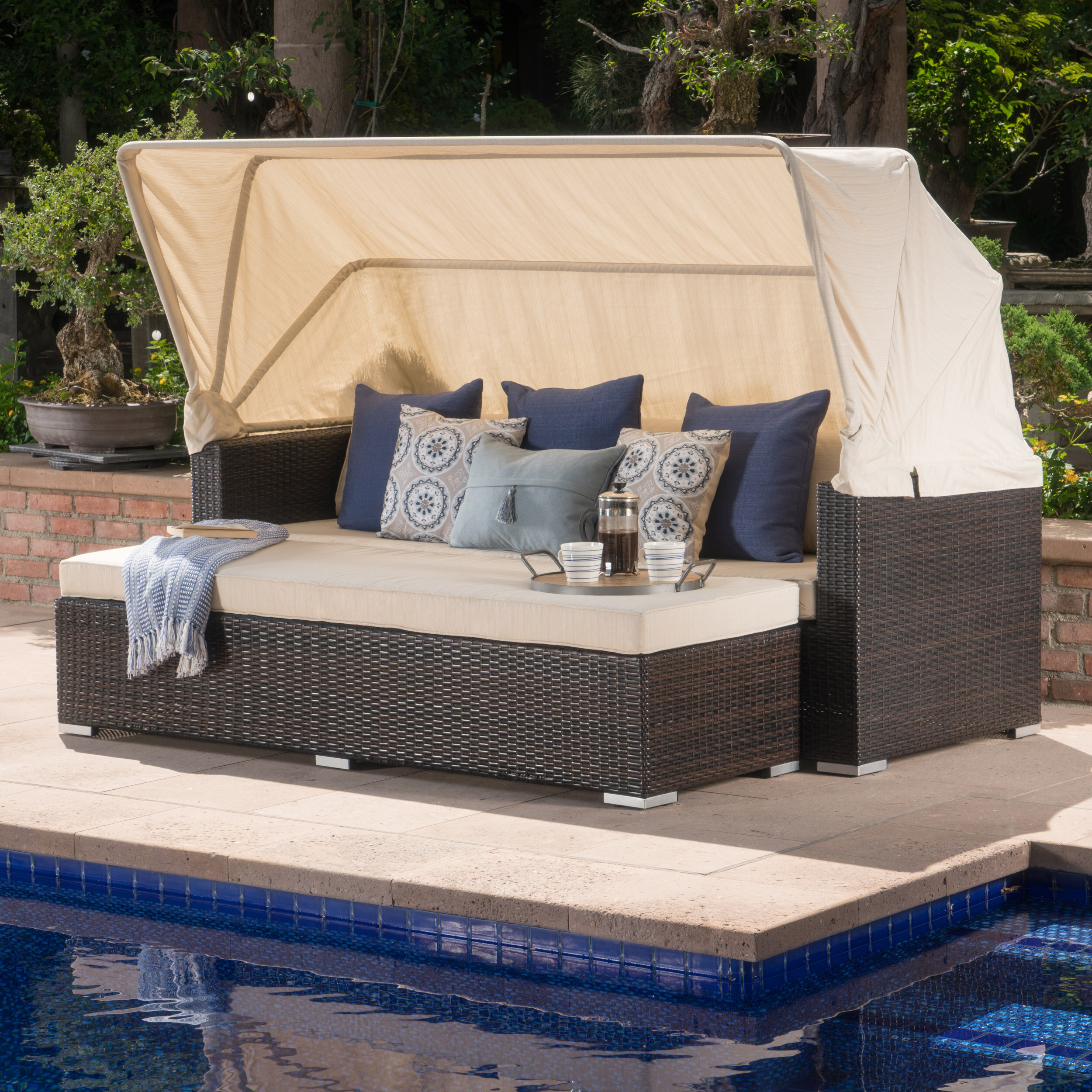 decoration daybed diy best with nsyd bed trends patio uncategorized and for outdoor canopy styles backyard home