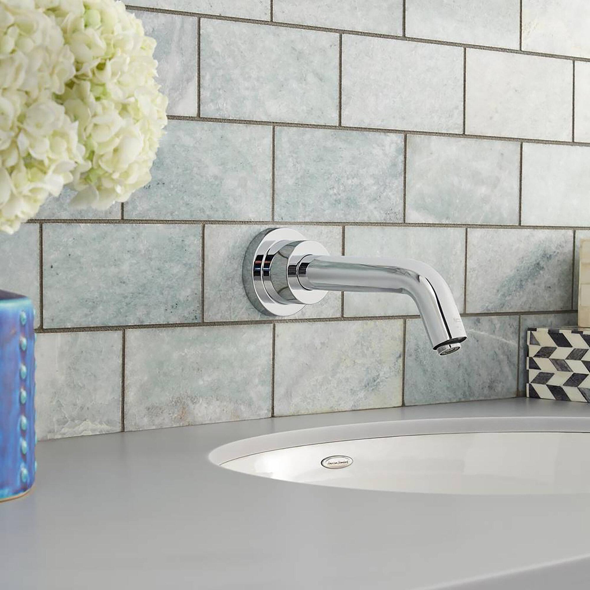 American Standard Serin Wall Mounted Bathroom Faucet Less Handles Wayfair