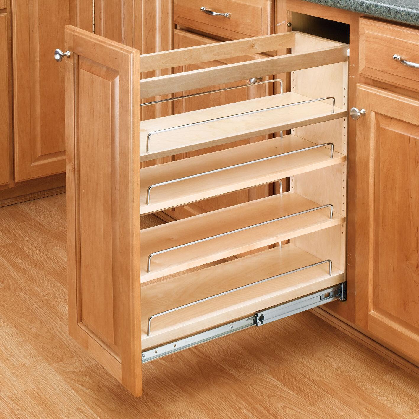tier organizer a shelf base design elegant cabinet cookware of two lowes rev