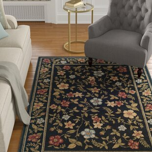 Look for Annmarie Black Area Rug By Charlton Home