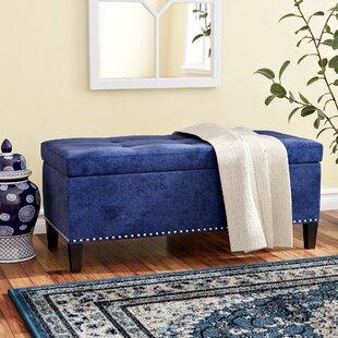 Bretton Upholstered Flip Top Storage Bench
