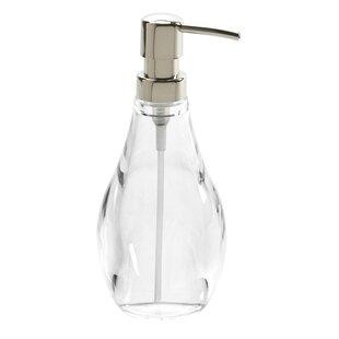 Droplet Bathroom Accessories 10 Oz. Soap Dispenser (Set Of 6)