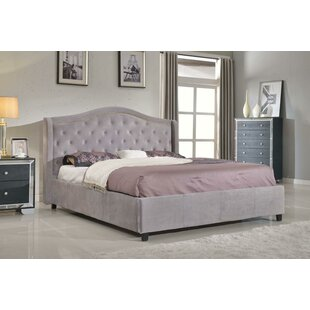 Nicole Footboard and Rails Upholstered Platform Bed