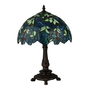 Nightfall Wisteria 17.5 Table Lamp