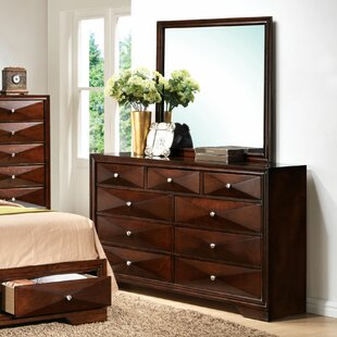 Ivy Bronx Beardsley 9 Drawer Double Dresser ..