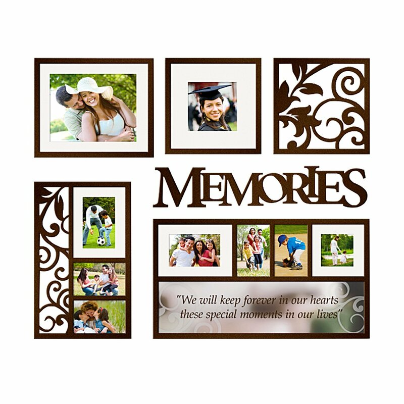 Fleur De Lis Living 6 Piece Hullinger Picture Frame Set Reviews