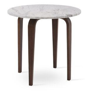 Mcquade Marble End Table by Comm Office