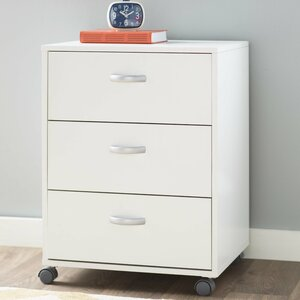 Kristen 3 Drawer Mobile Cabinet