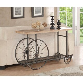 "Morison 48"" Solid Wood Console Table by Williston Forge SKU:BB547936 Details"