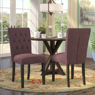 Kimmons Upholstered Dining Chair (Set of 2) by Charlton Home