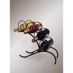 4 Bottle Tabletop Wine Rack by J & J Wire