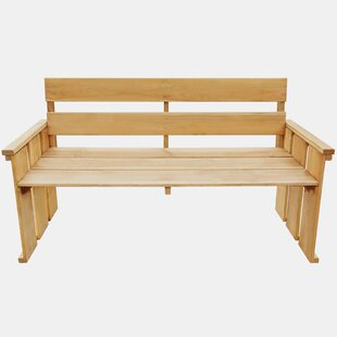Messines Wooden Bench By Sol 72 Outdoor