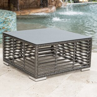Graphite Wicker Coffee Table