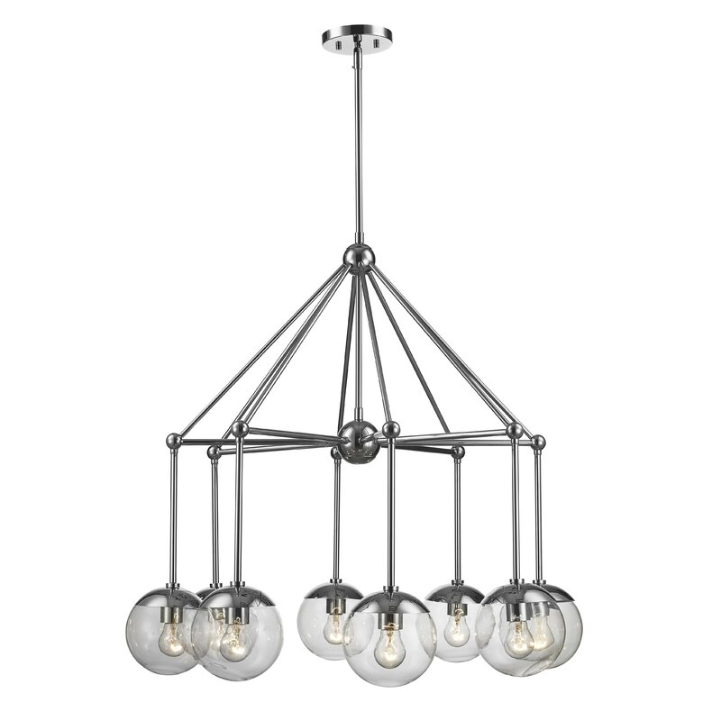 Breakwater Bay Romine 8 Light Unique Statement Classic Traditional Chandelier Wayfair