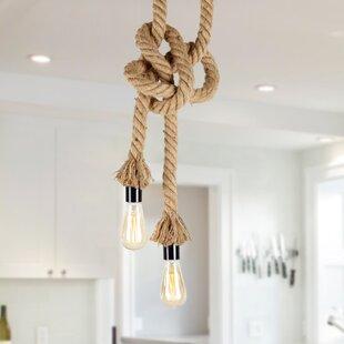 LNC Home 2-Light Novelty Pendant