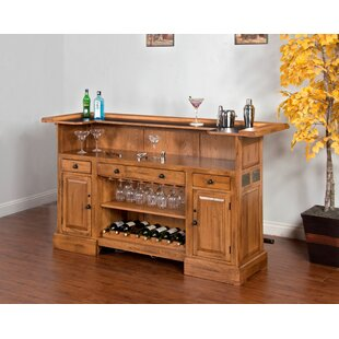 Fresno Bar with Wine Storage by Loon Peak