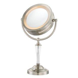 Latitude Run Dual Sided Lighted Vanity Mirror