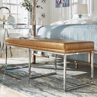 Willa Arlo Interiors Fadrique Solid Metal Metal Bedroom Bench