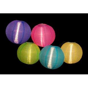 Sienna Lighting 5-Light 9 ft. Lantern String Lights