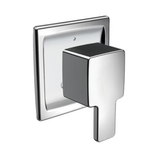 90 Degree Transfer Tub and Shower Faucet Trim by Moen