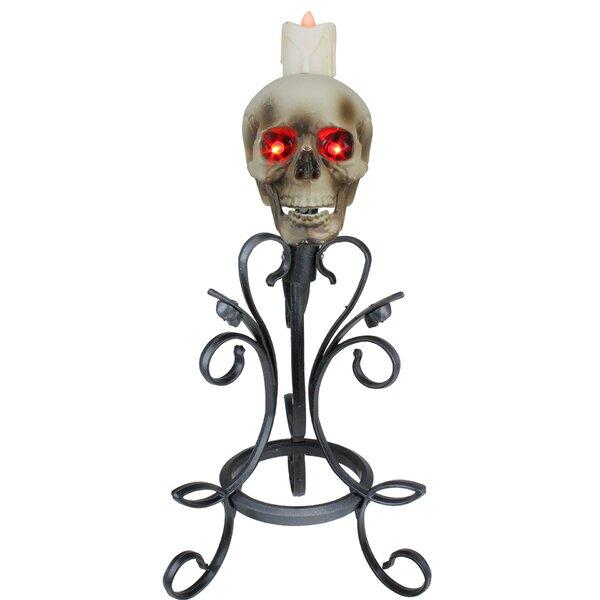 Skull Candle Holder Wayfair