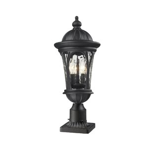 Lowther Outdoor Pier Mount Light by Astoria Grand Savings