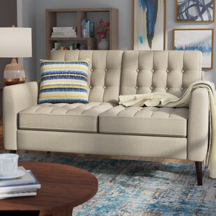 Shop Darren Tufted Loveseat by Langley Street