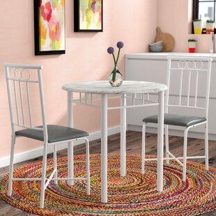 Highland 3 Piece Dining Set by Ebern Designs