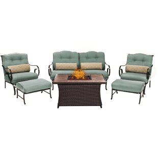 Cowell 6 Piece Sofa Set with Cushions