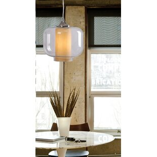Wildon Home ? Zuno 1-Light Drum Pendant