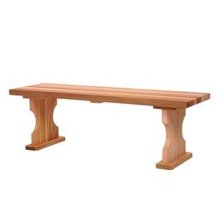 Hardwood Doweling Picnic Bench