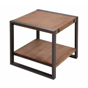 Blessing End Table by Wrought Studio