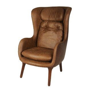 Ellison Cushioned Wingback Chair by New Pacific Direct