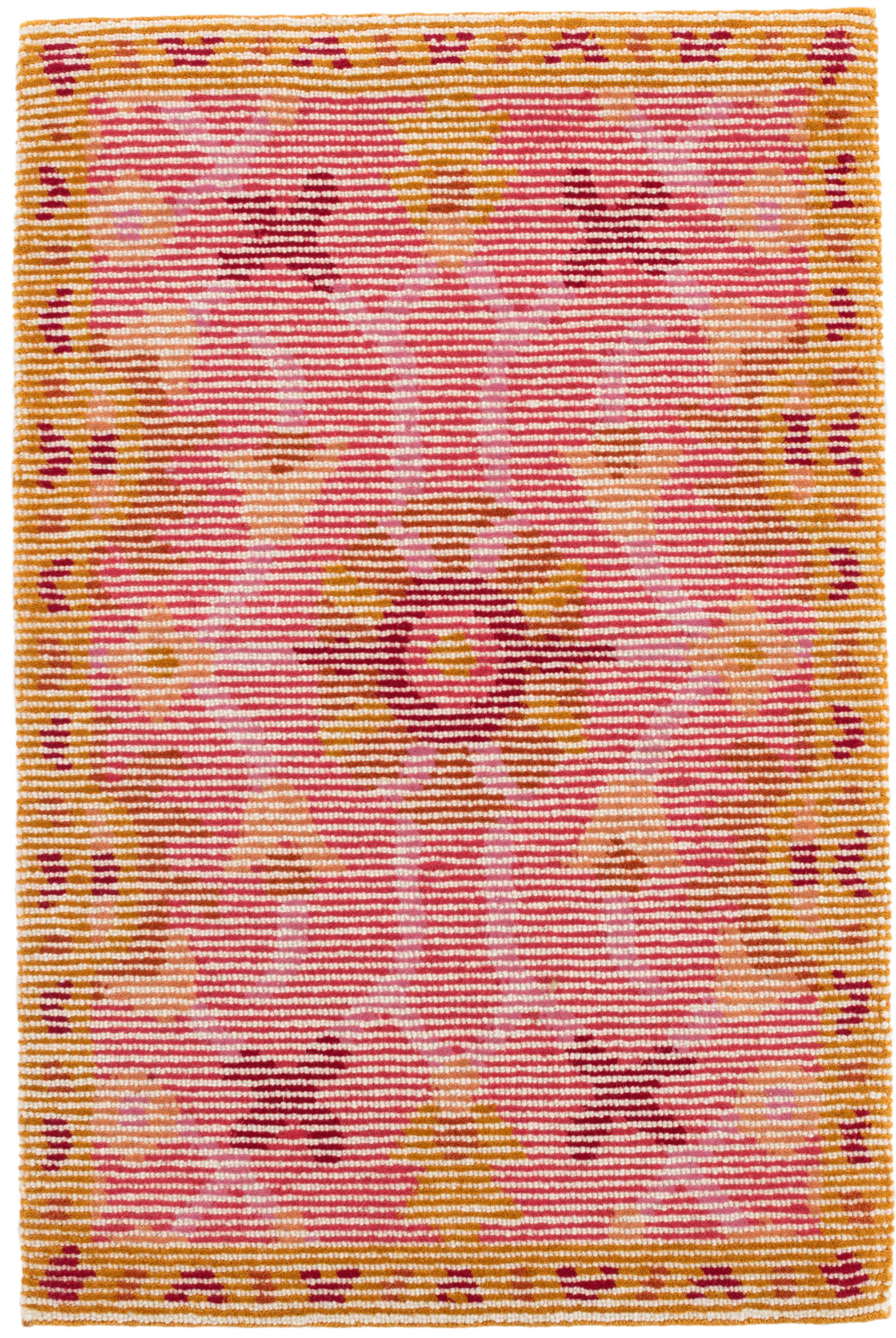 Dash And Albert Rugs Fleur Oriental Hand Hooked Wool Pink Yellow Area Rug Reviews Wayfair