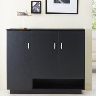 Hokku Designs Dominica 15-Pair Shoe Storage Cabinet