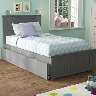 Find the perfect Mutchler Twin Platform Bed with Trundle by Beachcrest Home Reviews (2019) & Buyer's Guide