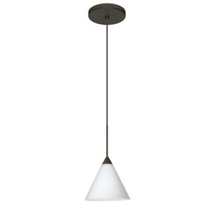 Besa Lighting Kani 1 Integrated Bulb Mini Pendant