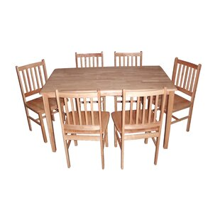 Callaway Dining Set With 6 Chairs By Alpen Home