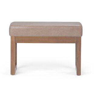 HamLake Faux Leather Bench