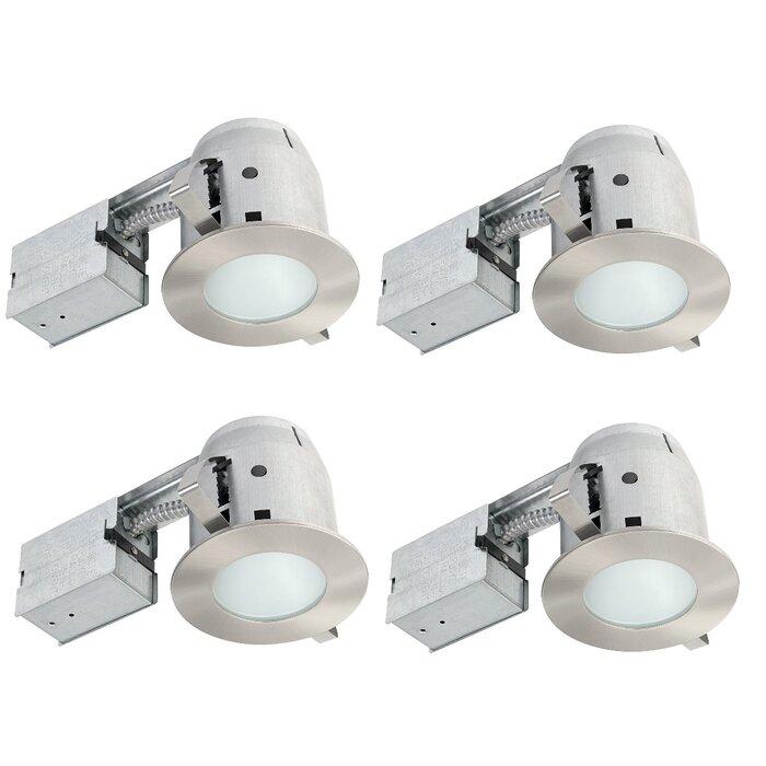 Ic Rated Bathroom Lighting 4 Recessed Kit