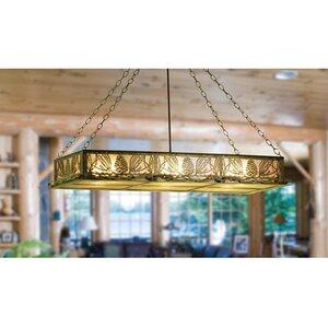 Mountain Pine 6-Light Pool Table Lights