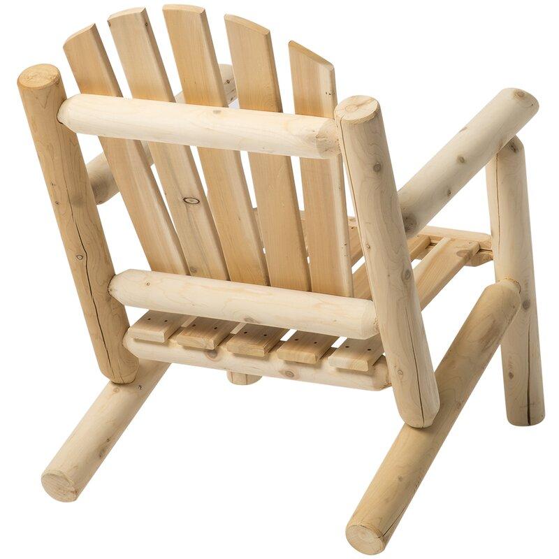 Hooper Solid Wood Adirondack Chair