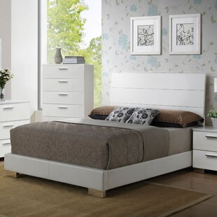 Latitude Run Schiavone Upholstered Panel Bed