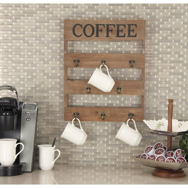 Cole & Grey Wall Mounted Mug Rack & Reviews by Cole & Grey
