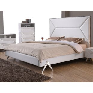 Wade Logan Anouk Queen Upholstered Platform Bed