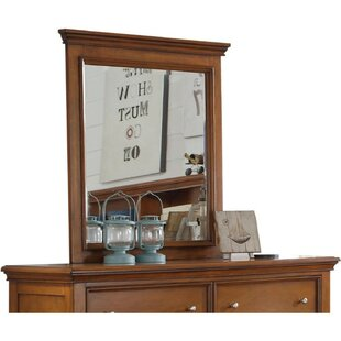 Compare & Buy Dansby Wood Rectangular Dresser Mirror ByCharlton Home